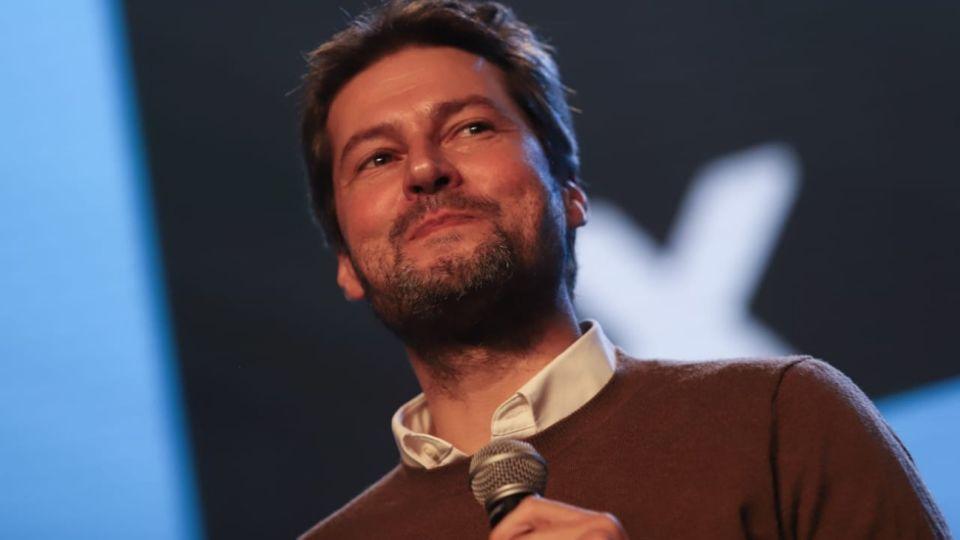 Matías Lammens, excandidato a jefe de Gobierno porteño del Frente de Todos.