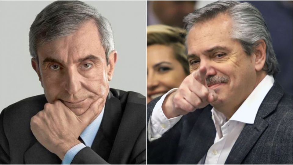Nelson Castro opinó sobre la salud de Alberto Fernández.