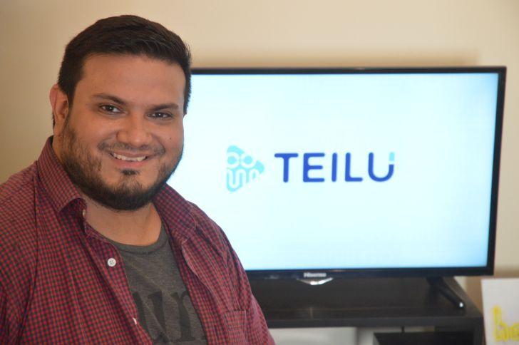 CRECIMIENTO. Maximiliano Pinela, fundador de Teilú, aseguró que hasta ahora se financiaron con premios y concursos ganados.