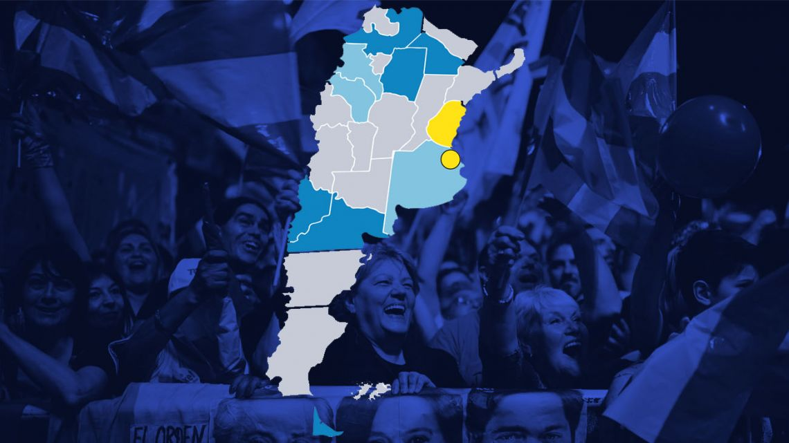 Rather than only one province beyond the capital, Macri won five – three with Peronist governors and/or governors-elect (Santa Fe, Entre Ríos and, most surprisingly San Luis) – while laying claim to absolute majorities in two (Córdoba and Mendoza) even if Fernández repeated his 14 absolute majorities from August.