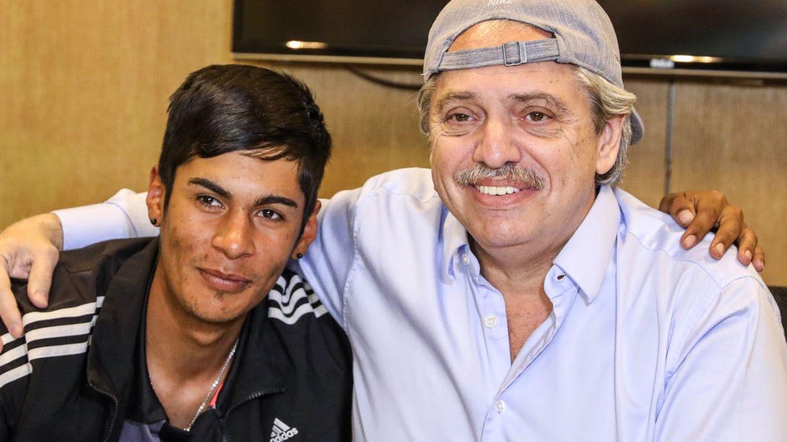 Brian Gallo and Alberto Fernandez.