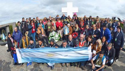 Darwin. Los avances sobre la identificación de las tumbas tuvieron lugar con Macri, pero solo gracias a la autoría intelectual de CFK.
