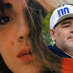 Gianinna y Diego Maradona