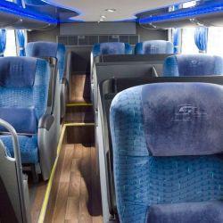 Modernos y cómodos, los micros de larga distancia llegan a más puntos que los otros transportes públicos.