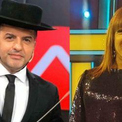 Ángel de Brito y Lizy Tagliani ahora compiten en la TV