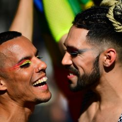 Images from the Gay Pride Parade in Buenos Aires, on November 2, 2019.
