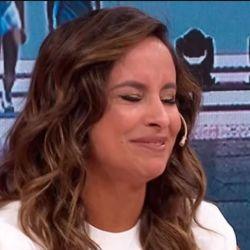 Lourdes Sánchez se emocionó en LAM