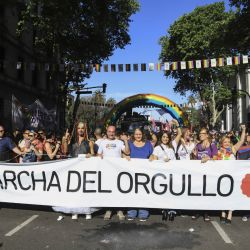 Thousands took to Avenida del Mayo for Buenos Aires' 28th Annual Pride March
