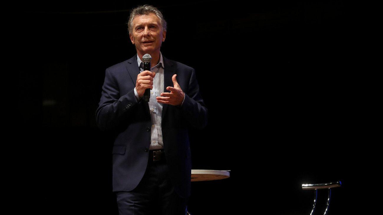 """Mauricio Macri en el CCK: """"No me voy a ir a ningún lugar, hay gato para rato"""""""