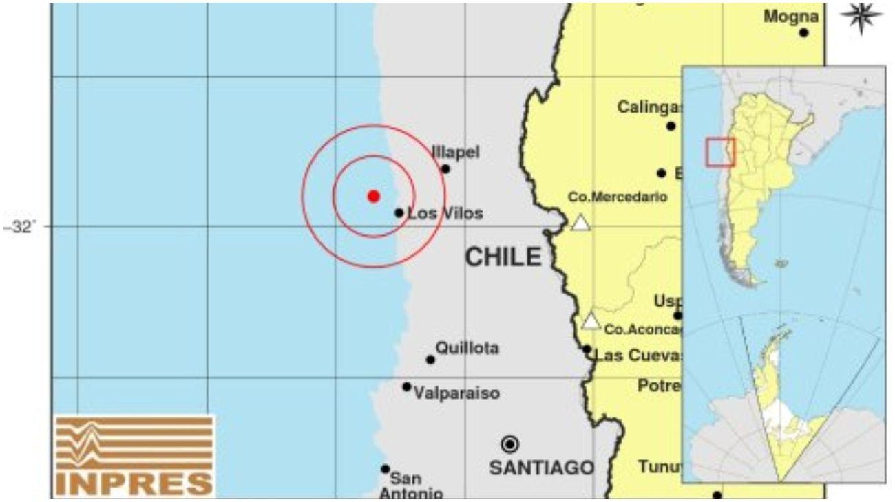 Se registraron sismos en Chile y San Juan que se sintieron en varias provincias argentinas