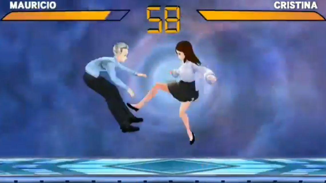 El juego de Mauricio Macri y Cristina Kirchner | Foto:cedoc