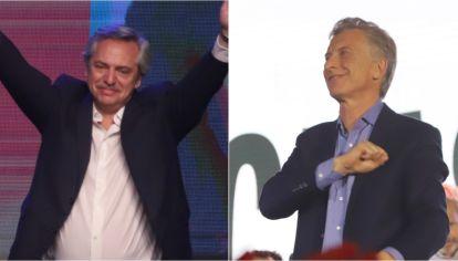 Alberto Fernández y Mauricio Macri. ¿Cuánto cambiaron los números de la elección en las provincias entre el escrutinio provisorio y el definitivo?