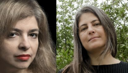 Mariana Enríquez y Selva Almada, escritoras argentinas