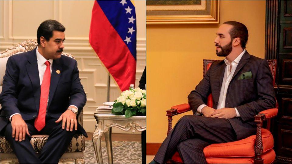 El Gobierno de El Salvador expulsó al cuerpo diplomático de Venezuela y Maduro salió a criticar a Bukele.