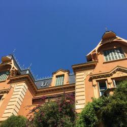 Los pisos superiores de Villa Ocampo antiguamente eran el alojamiento de la servidumbre y hoy está ocupado por oficinas de la Fundación Sur y la Unesco.