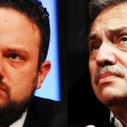 Matias Kulfas y Alberto Fernandez | Foto:cedoc