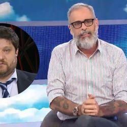 Nicolás Wiñazki y Jorge Rial