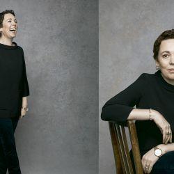 """Olivia Colman: """"Quisiera destacar al departamento de producción de la serie"""""""