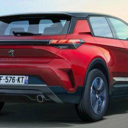 Recreación sobre posible SUV Peugeot 1008