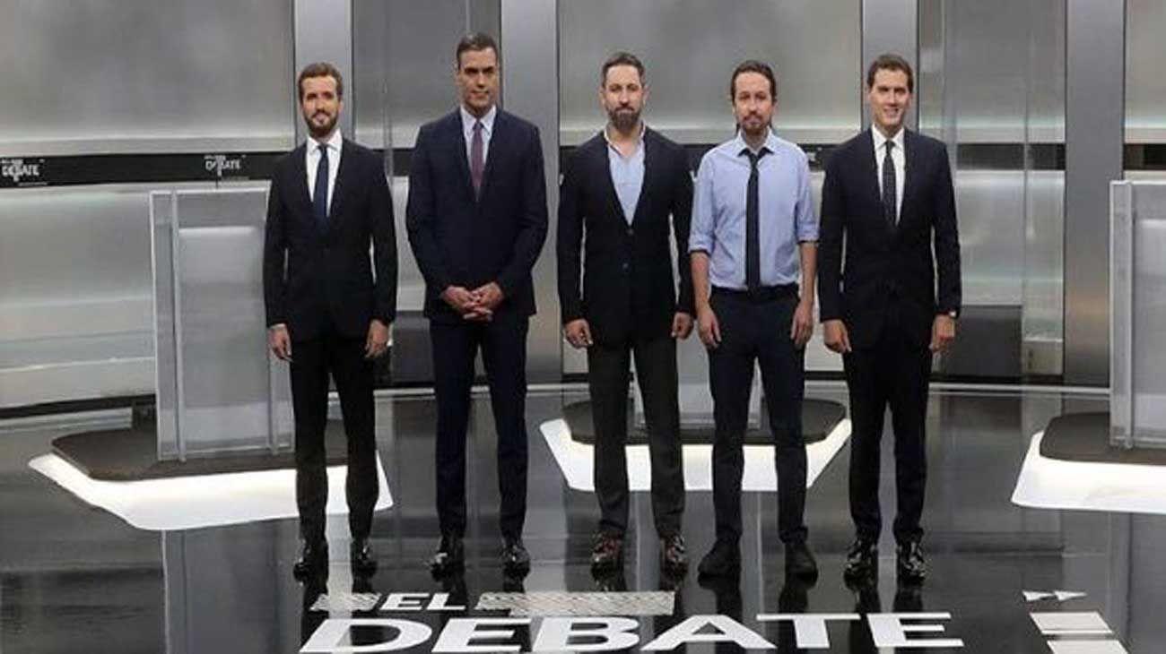Debate presidencial España