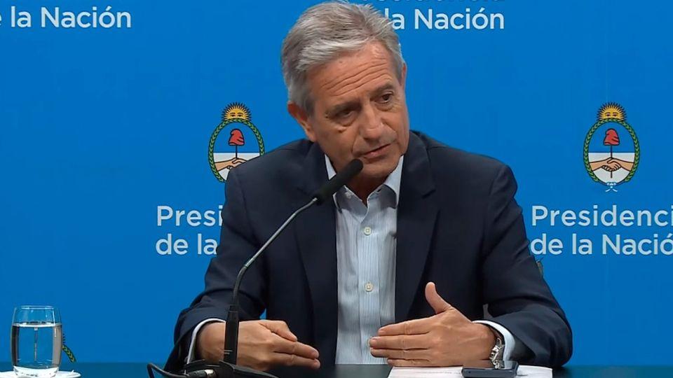 Andrés Ibarra, vicejefe de Gabinete.