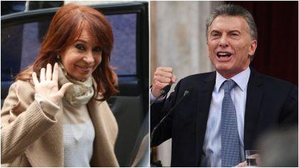 Cristina Kirchner vs. Mauricio Macri.