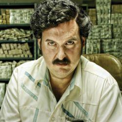 "Andrés Parra como ""Escobar, el patrón del mal"""