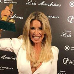 Florencia Peña festejó los premios ACE