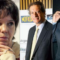 Mercedes Marcó del Pont, Miguel Pesce, José Ignacio de Mendiguren y Cecilia Todesca Bocco.   Foto:Fotos: Cedoc