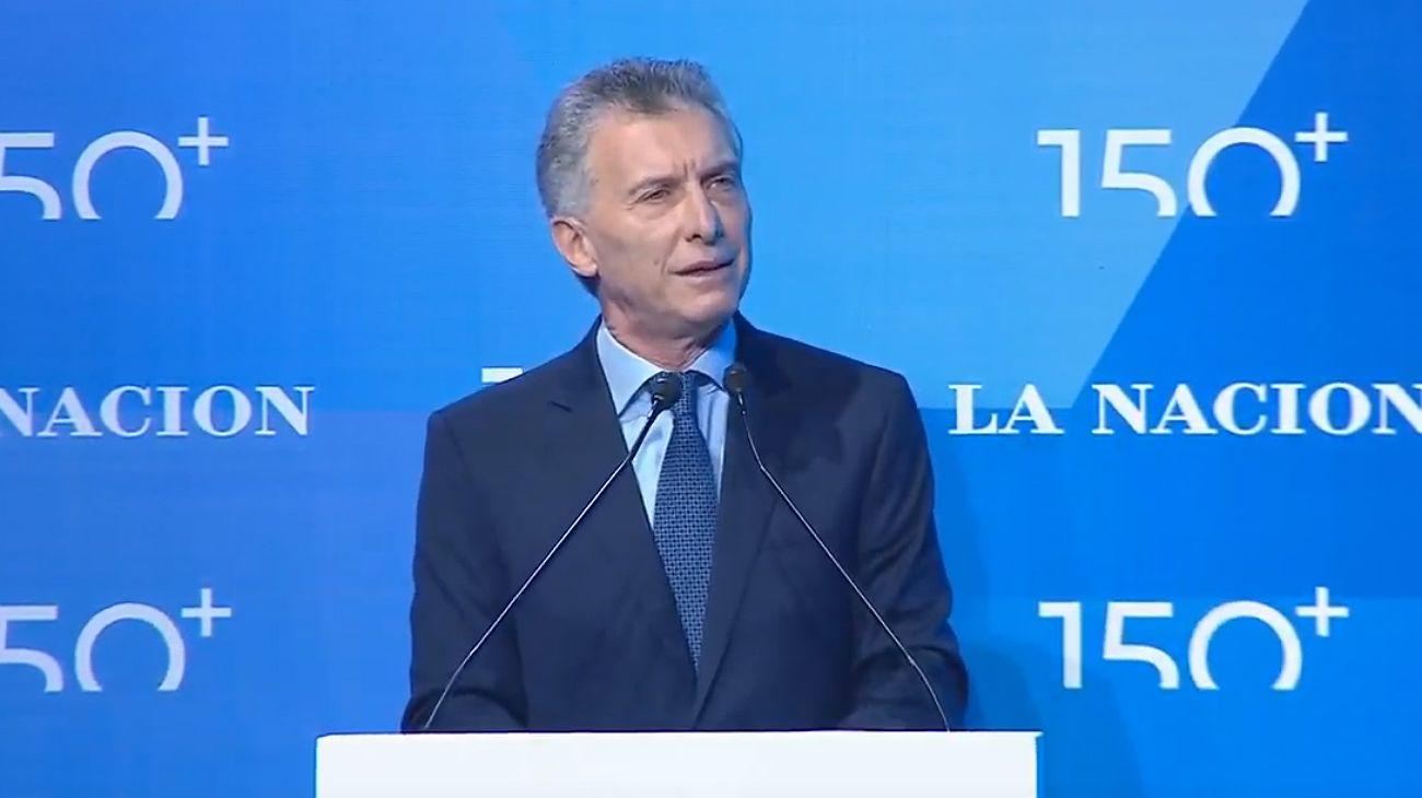 """Macri: """"Esto recién empieza y seguiremos defendiendo la democracia"""""""