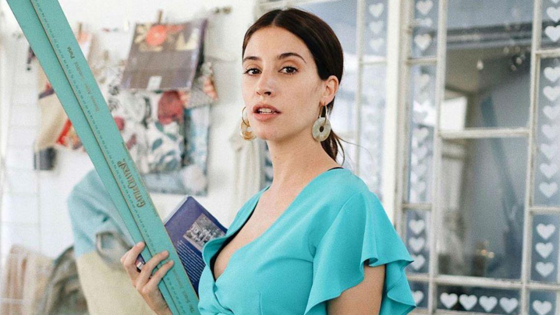 Agustina Córdova mostró su pancita a los siete meses de embarazo