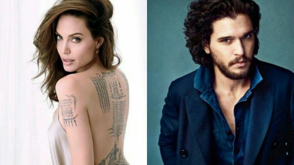 Angelina Jolie, muy cerca de un protagonista de Game of Thrones