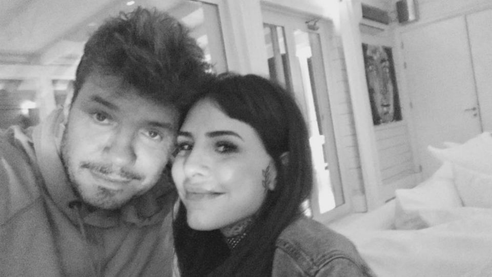 Marcelo Tinelli y Cande
