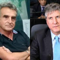 Agustín Rossi y Amado Boudou. | Foto:Cedoc.