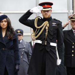 Así fue la última aparición pública del príncipe Harry y Meghan Markle