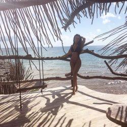 El picante posteo de Sofía Bonelli desde las playas de Tulum, ¿contra Nannis?