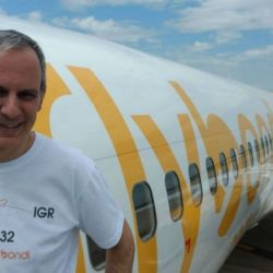 El empresario aéreo Julian Cook | Foto:Cedoc