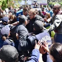 Represión a docentes en Chubut | Foto:Gentileza prensa Suteba.