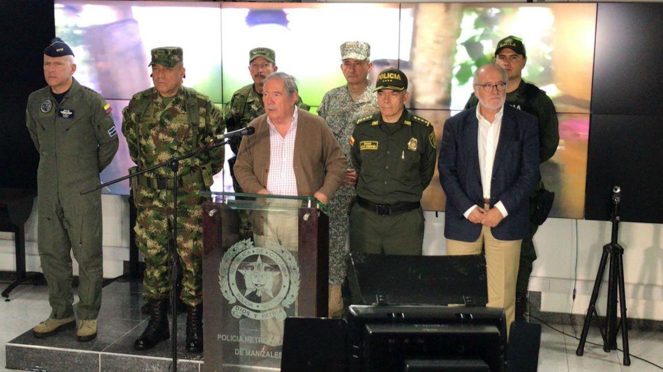 Guillermo Botero, el hasta ahora Ministro de Defensa de la República de Colombia.