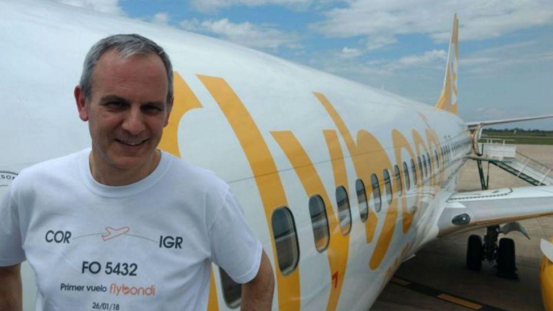 El empresario aéreo Julian Cook   Foto:Cedoc