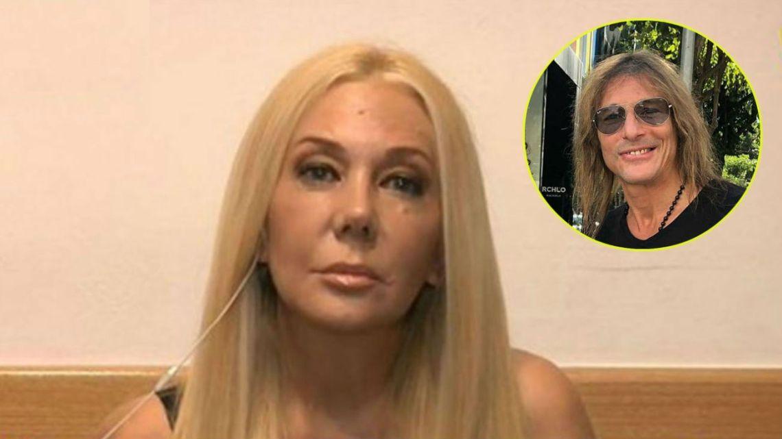 Mariana Nannis denunció a Caniggia por defraudación y amenazas