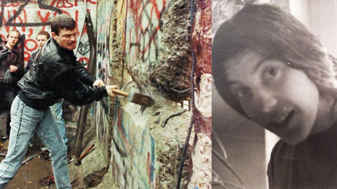 Muro de Berlin. Liliana Villanueva, autora de Otoño Alemán, en donde relata cómo se vivió ese momento histórico en la ciudad. | Foto:Cedoc y Friedhelm Sprenger