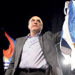El Frente Amplio llegó al 39,17% de los votos, su peor resultado en 25 años, | Foto:Fotos: Dante Fernández / Foco Uy.