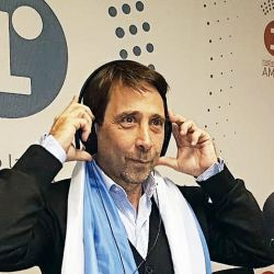 Eduardo Feinmann en el estudio de radio | Foto:cedoc