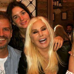 La reunión familiar de Susana Giménez con su hermano Patricio, su hija Mecha y su nieta