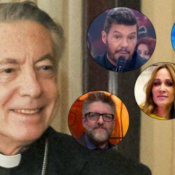 Los famosos contra el sacerdote Aguer