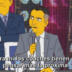 Showmatch como Los Simpson