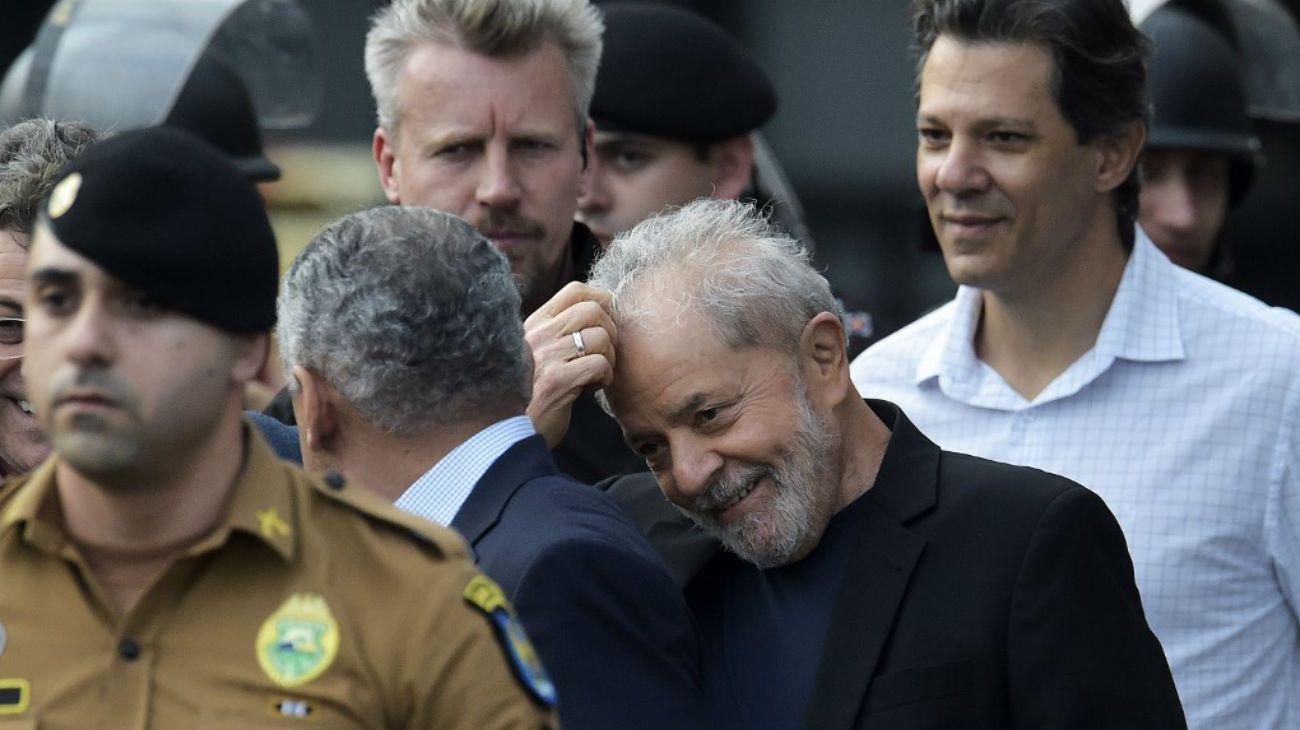 Lula da Silva libre: Y un día volvió a nacer