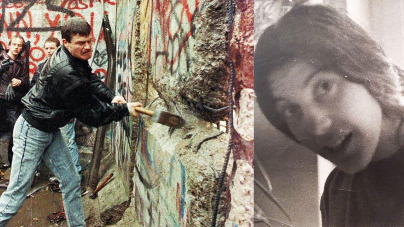 MURO DE BERLIN. LILIANA VILLANUEVA, AUTORA DE OTOÑO ALEMÁN, EN DONDE RELATA CÓMO SE VIVIÓ ESE MOMENTO HISTÓRICO EN LA CIUDAD.