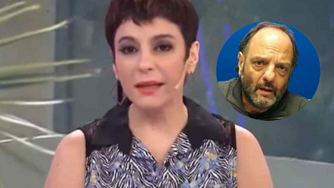 Carolina Papaleo exige un cara a cara con Baby Etchecopar
